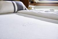 Spannbettlaken weiß für Kinderbett